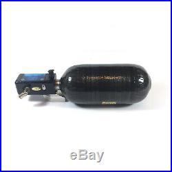 Angel AIR Paintball Digital Regulator & 68 ci Carbon Fiber Wrapped Tank 4500 psi