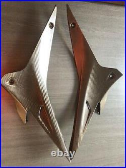 Aprilis RSV4 Factory fuel tank side carbon fairings