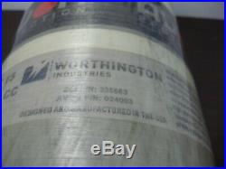 Avon Protection Worthington 4500hp 4500 Psi Carbon Fiber Scba Tank 45 Min 2015