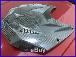 BMW HP4 S1000RR (9-14) Top Gas Tank Fairing Cover Carbon Fiber