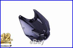 BMW S1000RR 2012 2014 100% Carbon Fiber Front Tank Cover, Twill