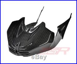 BMW S1000RR Race Integrated Tank Fuel Cover with Side Panel Fairing Twill Carbon