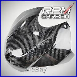 BMW S1000RR/S1000R Carbon Fiber Tank Cover Glossy Twill