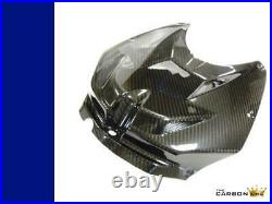 Bmw S1000rr Carbon Petrol Tank Cover 2012-2014 In Twill Gloss Weave Hp4 Fibre