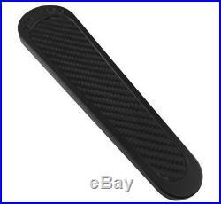 Brass Balls BB05-005 Black Carbon Fiber Tank Panel Dash Insert 08-19 Harley FLH