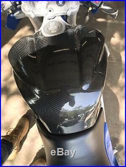 Buell Fire Bolt Carbon Fiber Gas Tank Cover
