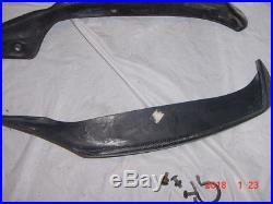 Buell X1 Lightning carbon fiber under-tank trim strips 1999-2002 18-1