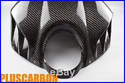 Buell XB Airbox/Tank Cover + Belly Pan Twill Carbon Fiber Glossy Fits for Buell