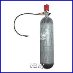 CE 3L 4500psi Carbon Fiber Air Tank & Fill Station Regulator for SCUBA PCP New
