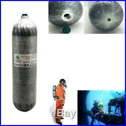 CE 3L Air Tank Carbon Fiber Gas Cylinder M18x1.5 Thread Fill Station Scuba PCP