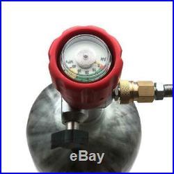 CE 3L Air Tank Carbon Fiber Paintball 4500psi PCP M18x1.5 Thread Regulator Hose