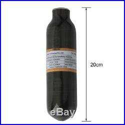 Carbon Fiber 0.22L 30Mpa 4500psi Mini Cylinder Compressed Air Paintball Tank US