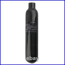 Carbon Fiber 0.3 L CE Scuba Diving Air Cylinder 4500psi PCP Tank 5/8-18UNF USPS
