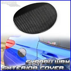 Carbon Fiber 2020 For SUBARU WRX STI Sedan Side Fuel Tank Cap Dry Trim Cover
