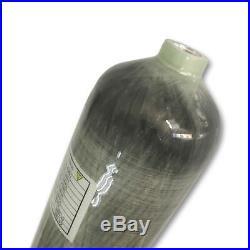 Carbon Fiber 3L CE 4500Psi Scuba Diving Bottle 2018 PCP Air Tank Thread M181.5