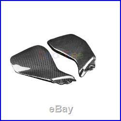 Carbon Fiber Air Intake Tank Side Dash Cover Panel Fairing For Yamaha MT09 FZ-09