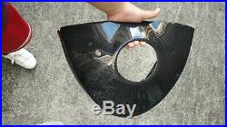 Carbon Fiber Fuel Oil Tank Cover Protector For BMW S1000RR S1000R 15-18 Twill