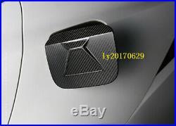 Carbon Fiber Fuel Tank Cover Oil Gas Cap trim For LEXUS IS250/350/300/200 14-18