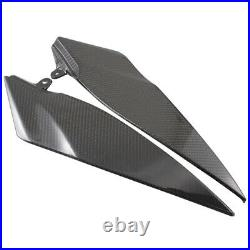 Carbon Fiber Fuel Tank Side Covers Panels Fairings For YAMAHA YZF R1 2007-2008