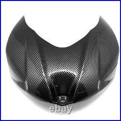 Carbon Fiber Gas Tank Front Cover Guard Fairing For SUZUKI GSXR 1000 2007 2008