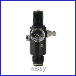Carbon Fiber HPA Paintball 4500psi/68ci Tank PCP Fill Station& Regulator&Hose