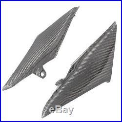 Carbon Fiber Tank Side Cover Panel Fairings Cowl for Honda CBR 600 RR 2003-2004