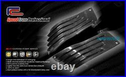 Carbon Fiber Tank Side Panels Fairings KAWASAKI Ninja ZX-14 / ZZR-1400 2006-2011