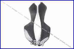 Carbon Fiber Tank Side Panels For Honda CBR1000RR 2004-2007