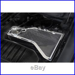 Carbon Fiber Water Tank Cover Top Plate withTrim for 11-17 Challenger withACC Cover