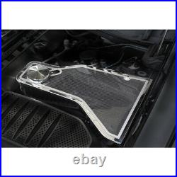 Carbon Fiber Water Tank Cover Top Plate withTrim for 11-19 Challenger withACC Cover