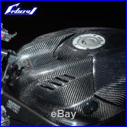 Carbony YZF-R6 2017- Dry Carbon Tank Cover Free Shipping