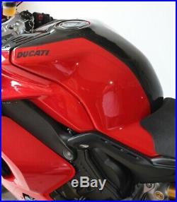 Cover Tank Carbon Red Ducati Panigale V4/V4s/V4R