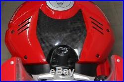 Cover tank carbon Ducati Panigale V4/S FullSix carbon