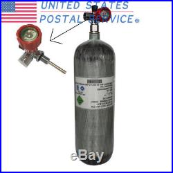 DOT 6.8L 4500Psi Carbon Fiber Air Pressure Tank With Valve For PCP Paintball