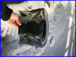 DRY Carbon Fiber Tank Shroud Extender For 2015-2020 Yamaha R1/R1M/R1S