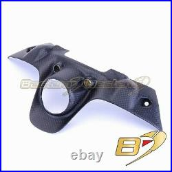 Ducati 1199 1299 899 959 Panigale MATTE Carbon Fiber Fuel Tank Key Chain Guard