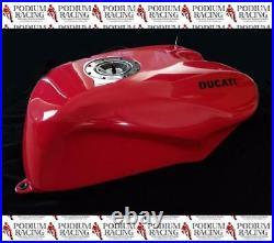 Ducati 748 916 996 998 Genuine Oem Carbon Fiber Fuel Gas Tank