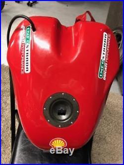 Ducati 748/916/996/998 carbon fiber fuel tank
