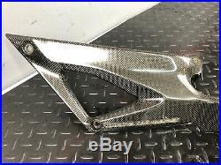 Ducati 848 1098 1198 Carbon Fiber Gas Tank Panels Fairings