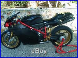 Ducati 916 carbon fiber fuel tank