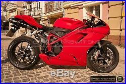 Ducati Carbon Fiber 1098 848 1198 Tank Side Panels Dry Pre-Preg
