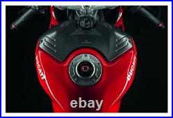 Ducati Carbon Fiber Tank Cover Panigale V4 / S 2018-2020 Carbon Fiber 96981051A