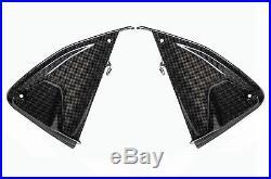Ducati Hypermotard 821 SP/Hyperstrada Inner Side Fuel Tank Fairings Carbon Fiber