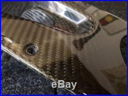 Ducati Monster 100 Carbon Fiber Twill Weave Upper Lower Tank Cover