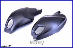 Ducati Monster 696 796 1100 100 Carbon Fiber Side Tank Cover