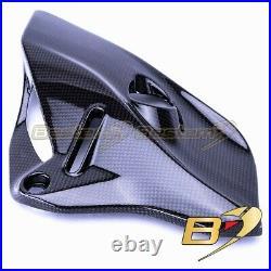Ducati Monster 821 1200 S R Coolant Tank Cover Right Engine Shroud Carbon Fiber
