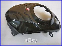 Ducati Multistrada 1200 Carbon Fuel Tank Cover Serbatoio Protezione 969A01610B