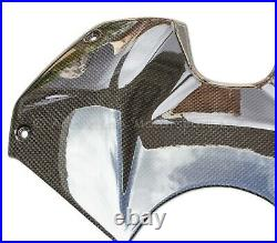 Ducati Panigale V4, V4S, V4R Full Carbon Fibre Fuel Tank Cover In Gloss