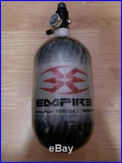 Empire 68/4500 Carbon Fiber Compress Air Tank Hp2 Paintball Ninja In Hydro