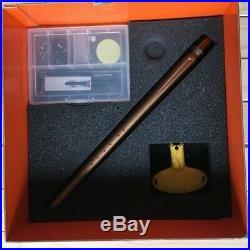 Empire Axe Blue & Gold Paintball Marker, Empire Carbon Fiber Tank, Dye Rotor